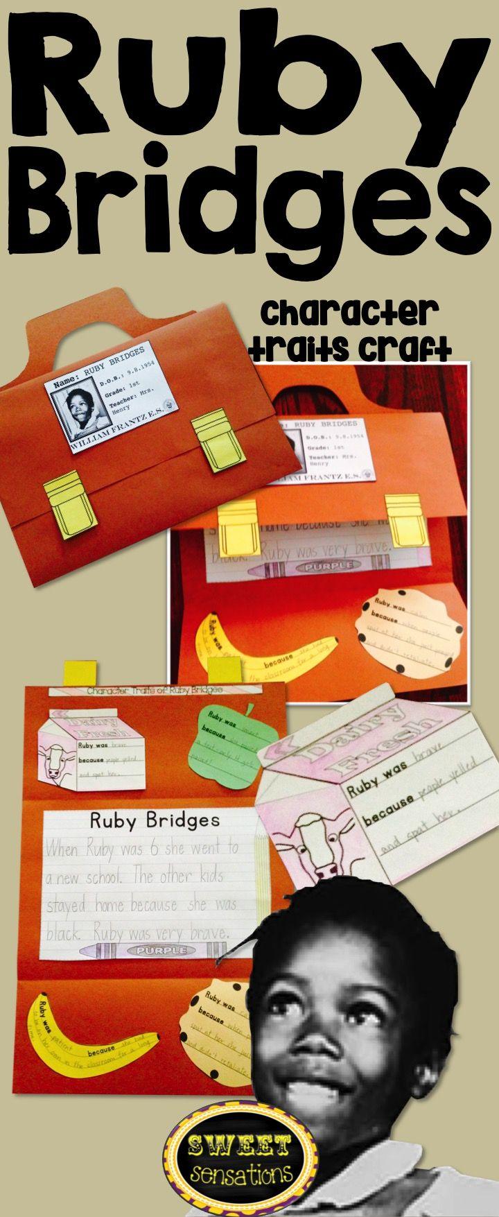 Ruby Bridges (Black History; character traits) | Kind