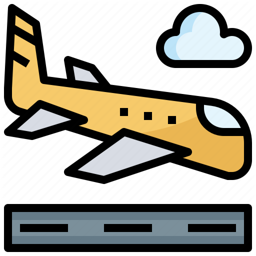 Airplane Airport Arrival Land Landing Transport Travel Icon Download On Iconfinder Automobile Icon Travel Icon