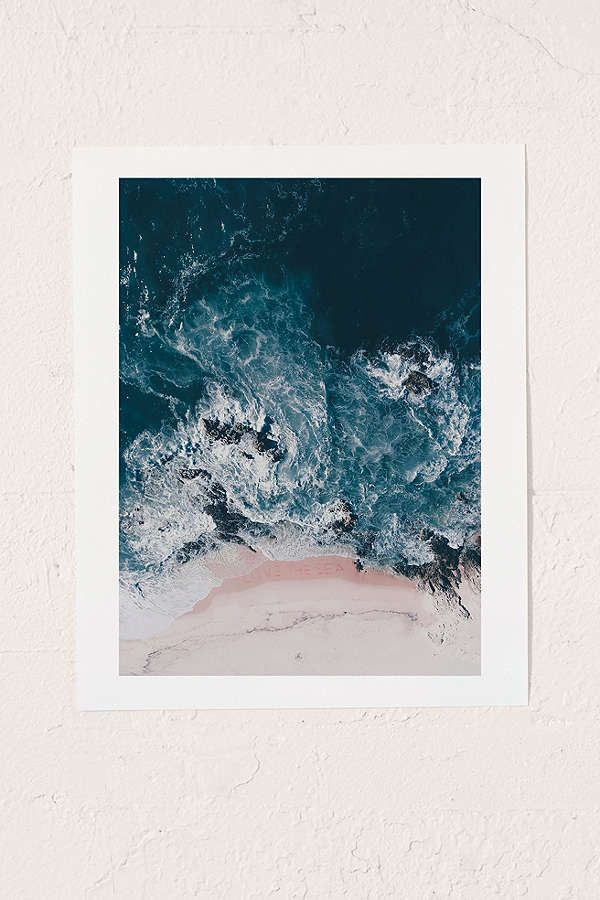Ingrid Beddoes I Love The Sea Art Print