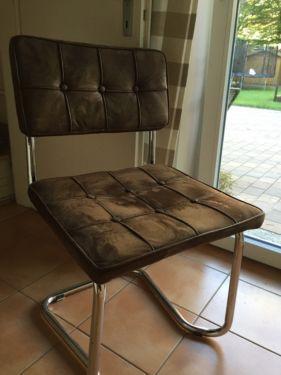 2 kare freischwinger st hle vintage braun in m nchen obergiesing st hle gebraucht kaufen. Black Bedroom Furniture Sets. Home Design Ideas