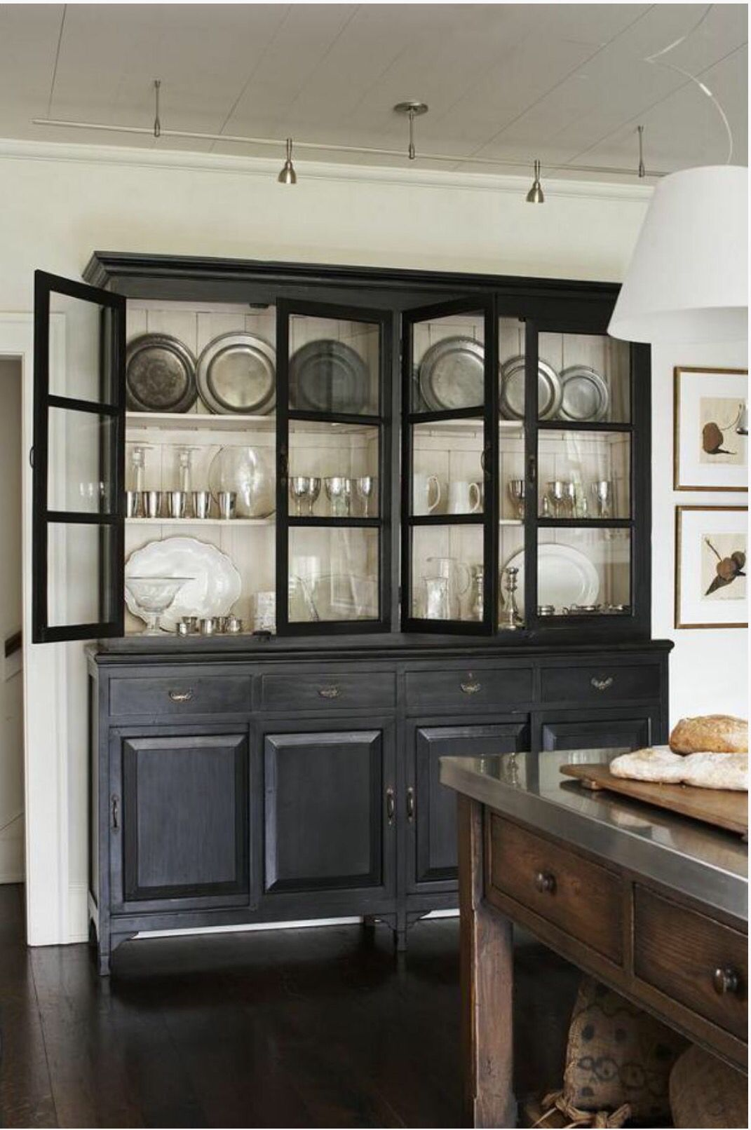Pin By Clare Bowditch On Sideboard In 2020 Black Dining Room