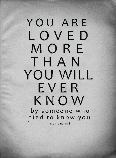 Romans 5 8 Thank You Jesus I Wanna Be So Full Of Your Love It S