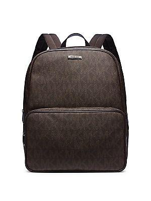 Michael Kors Shadow Signature Backpack - Brown