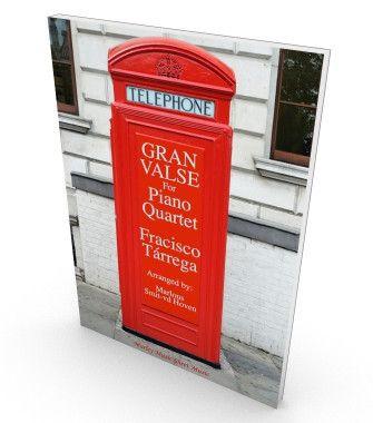 Gran Valse (Nokia Tune) | Sheet Music for Salon ensemble