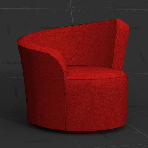 Swivel Club Chair.