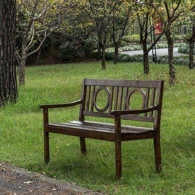 Tremendous Birch Lane Heritage Clancy Wooden Garden Bench Color Elm Machost Co Dining Chair Design Ideas Machostcouk