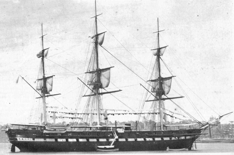 USS MINNESOTA ( 1ST OF 4 SHIPS SO NAMED BEFORE 2020 ) WAS THE LAST UNION SHIP BLOCKADING HAMPTON ROADS