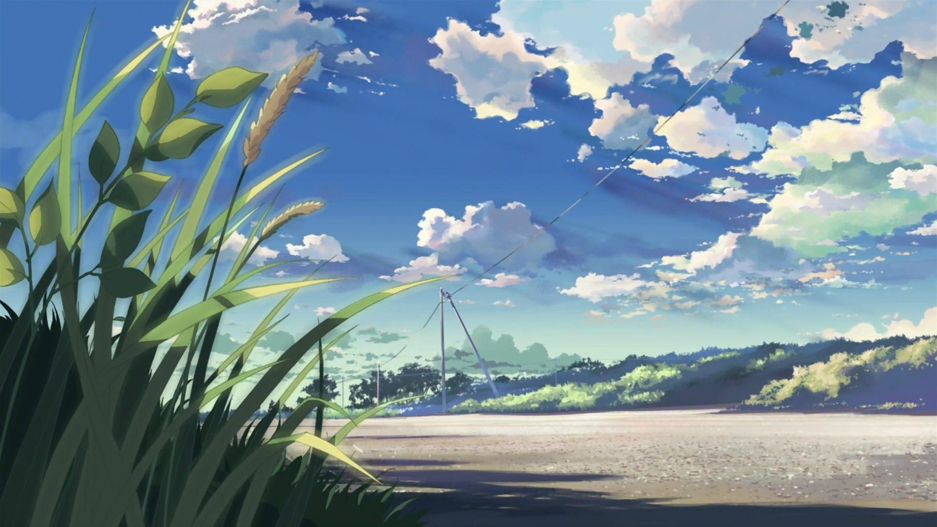 Anime Wallpapers Scenery Wallpaper Landscape Wallpaper Anime Scenery