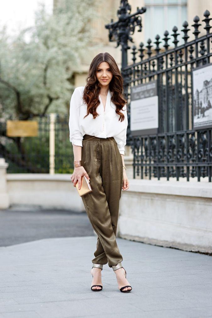 090538a1a3ed The Comeback of Khaki Outfits | style | White shirt outfits, Khakis ...