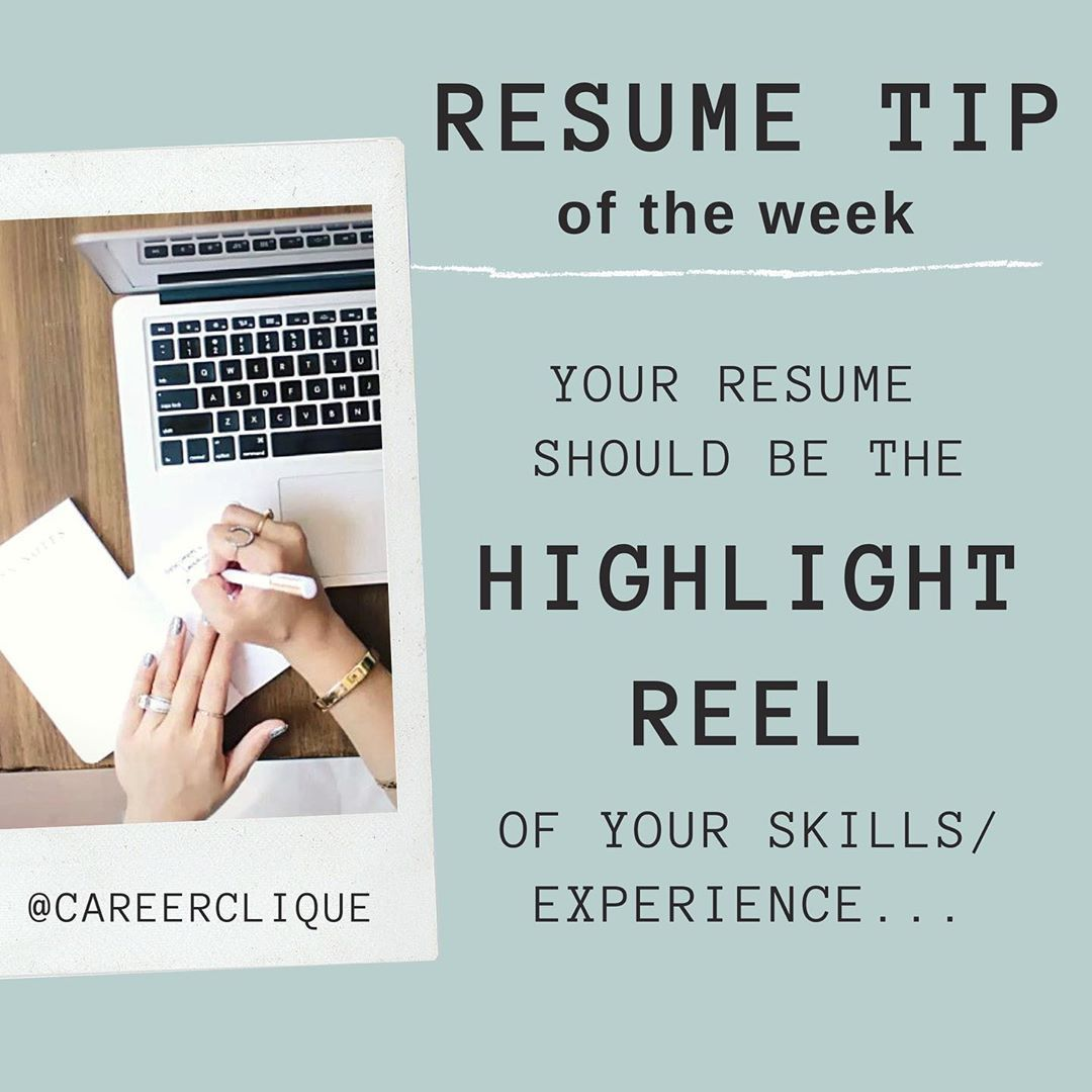 Hop on over to careerclique to see how simple resume tips