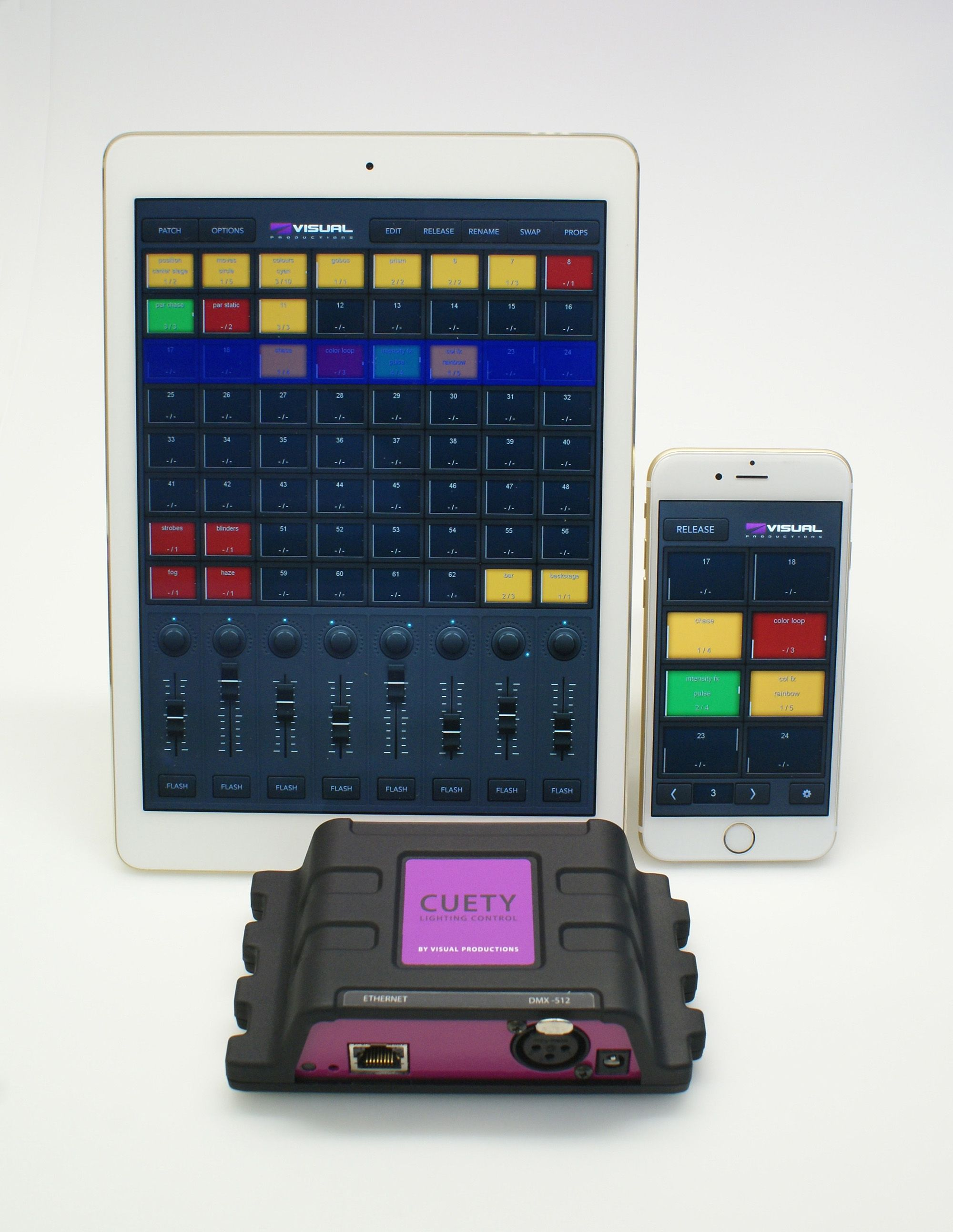 control lighting with ipad. Cuety, An IPad Based DMX Lighting Control System. Comprising Of Cuety On IPad, With Ipad A