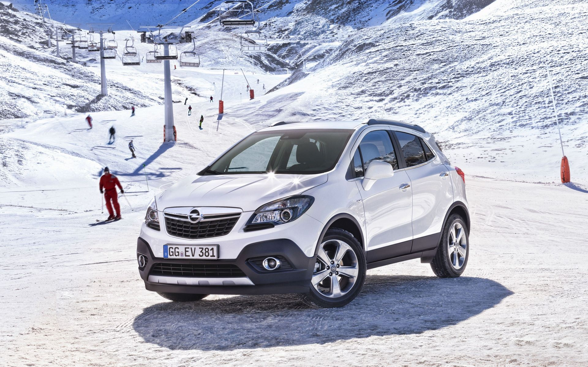 White Opel Mokka Opel Mokka Opel Car Wallpapers