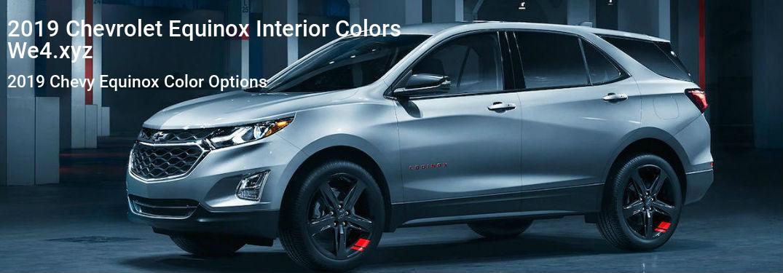 2019 Chevrolet Equinox Interior Colors Chevrolet Equinox