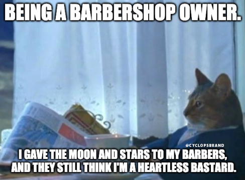 Being a Owner Funny Meme Funny animal