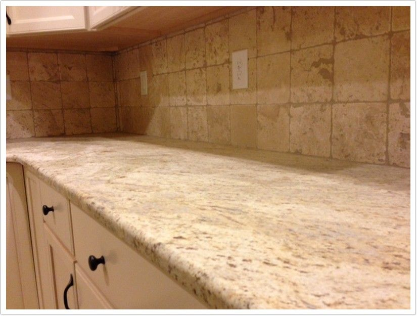 colonial gold granite countertops ivory kitchen | colonial gold