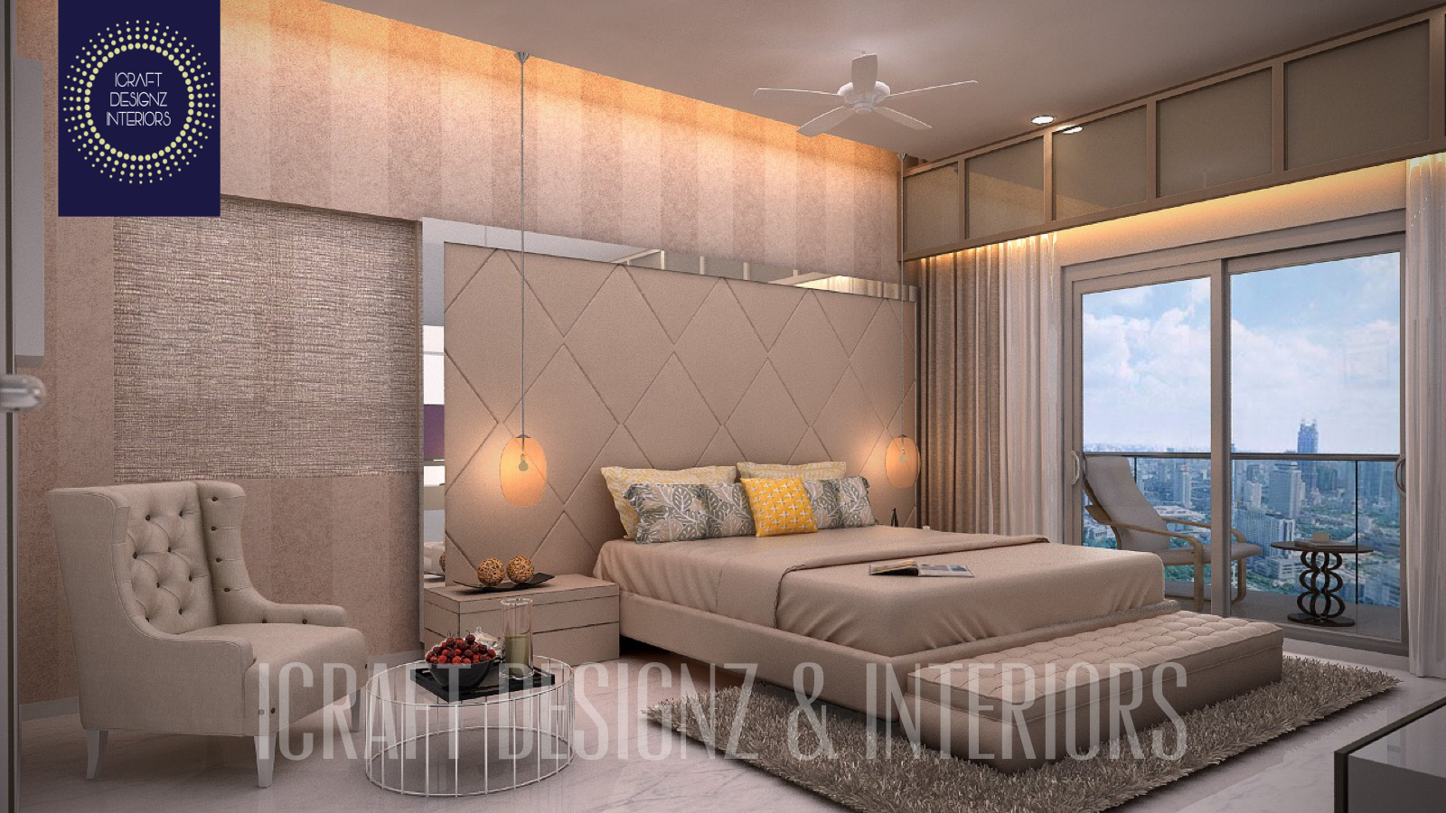 Pin By Icraft Designz And Interiors On 3bhk Flat Interior Design