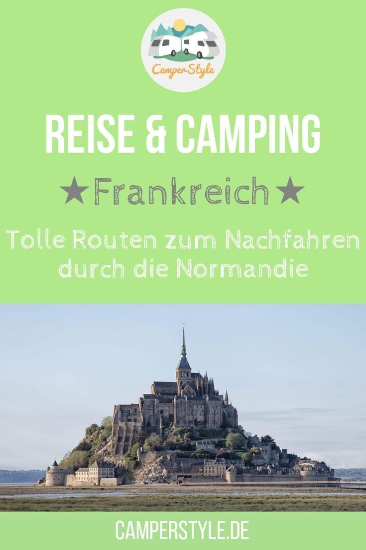 Photo of Beautiful camper routes in Normandy – with camping tips