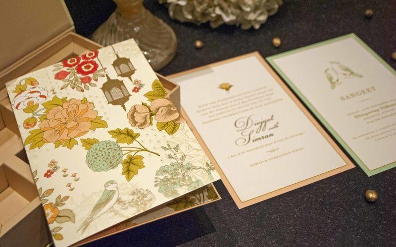 Photo of Invitations ArtsyDesignCo via Candid Wedding and