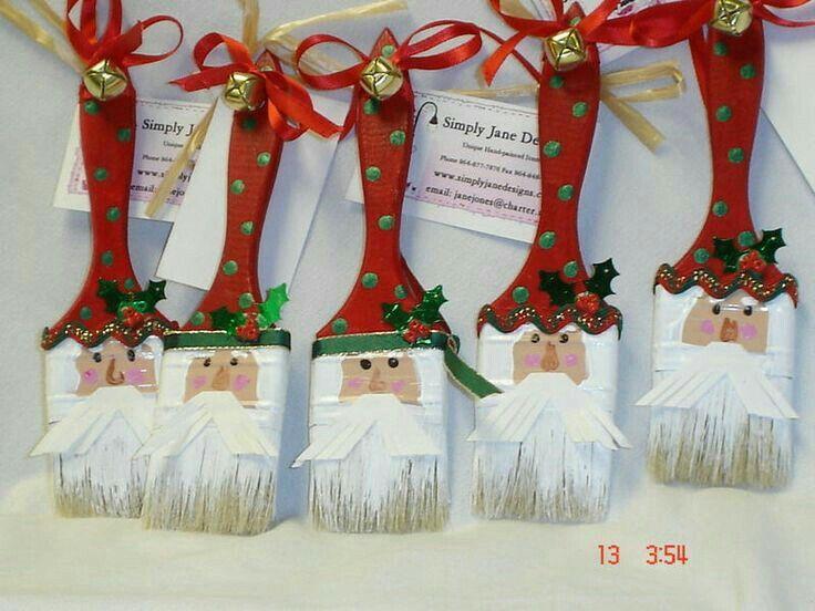 Papai Noel - Pinceis