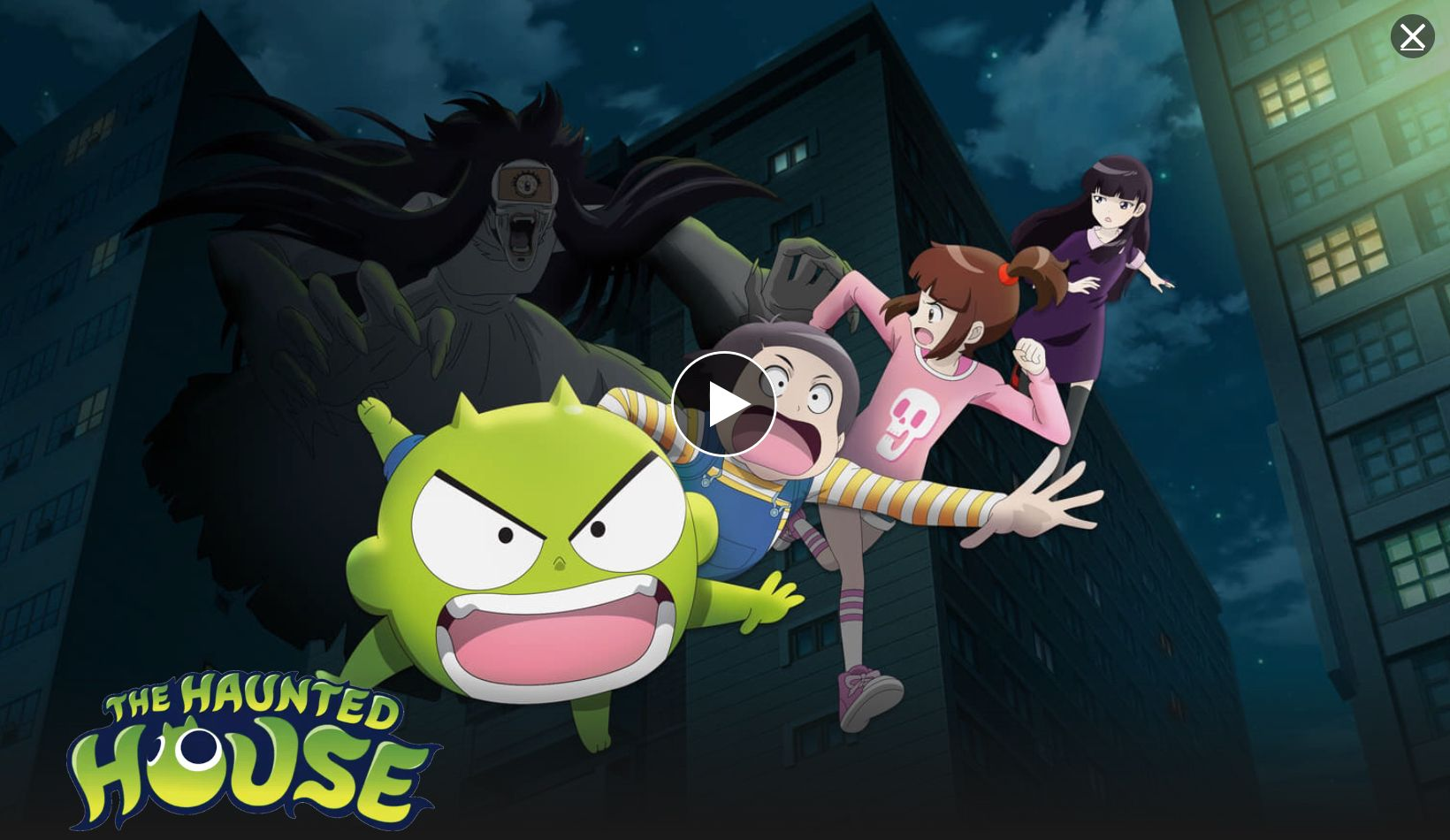 Watch The Haunted House on Netflix! It's a great Anime! My