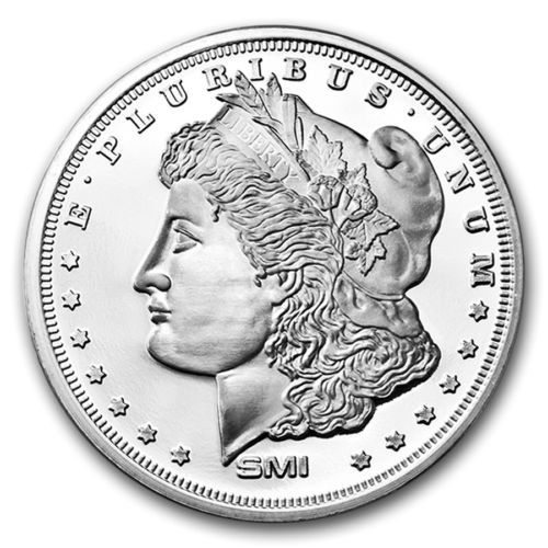 Morgan Dollar Design Sunshine 1 Oz 999 Fine Silver Round In Coins Paper Money Bullion Silver Bars Rounds Ebay Silver Rounds Morgan Dollars Coins