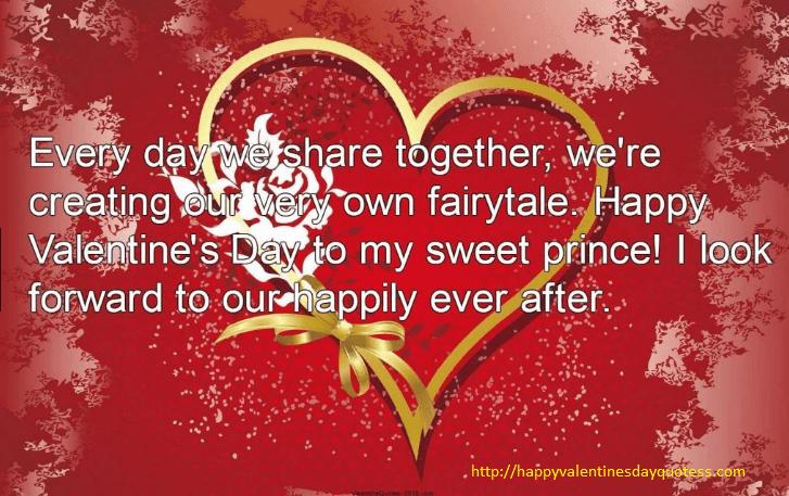 Love messages boyfriend valentine for Valentine's Day