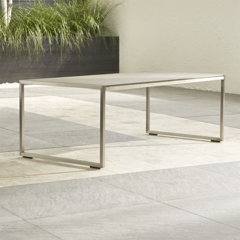 Dune coffee table with pebbled glass reviews crate and