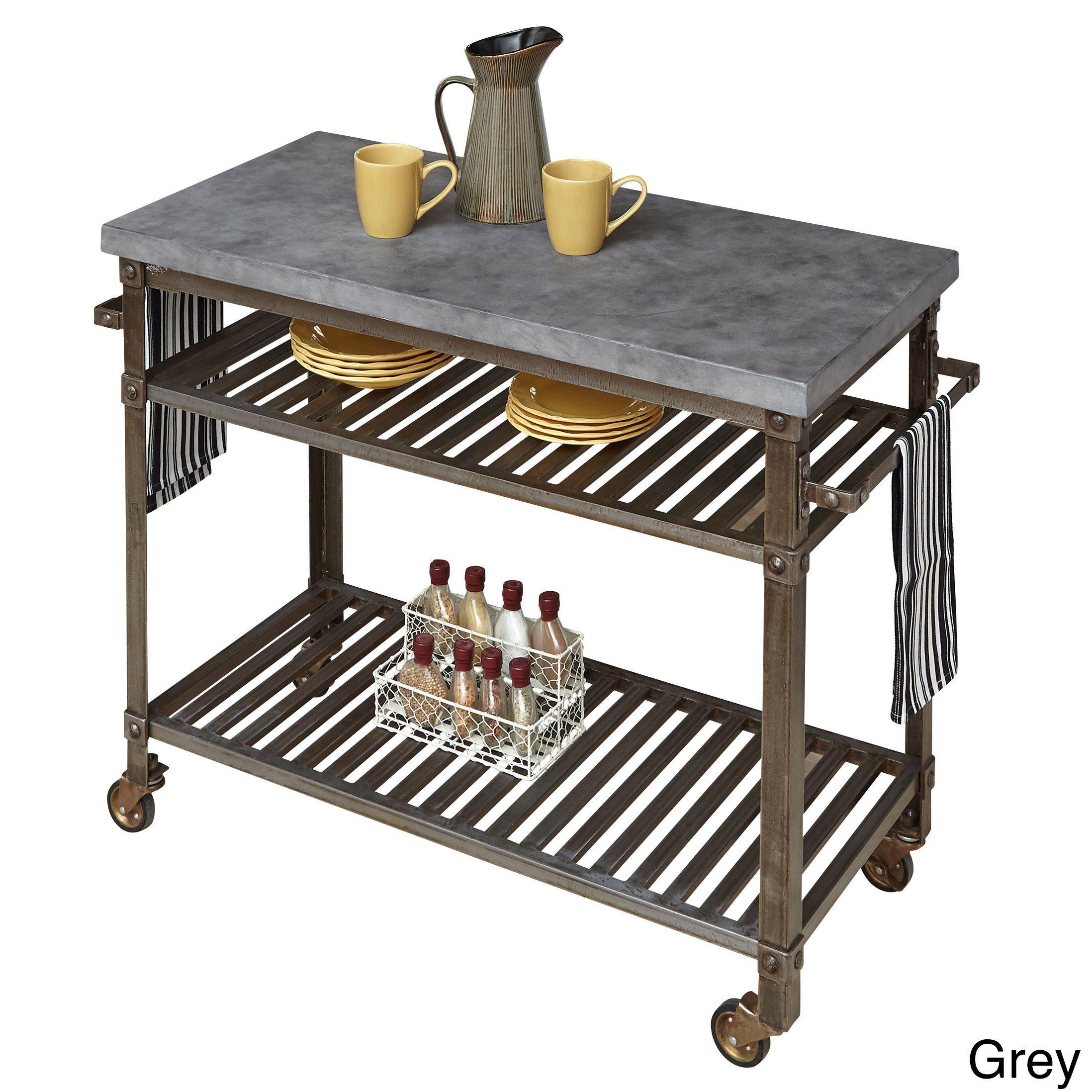 Home Styles Urban Style Kitchen Cart (