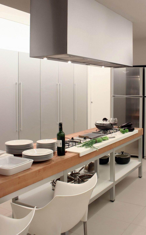 Island Exhaust Hoods Kitchen: Kitchen : Large Island Kitchen Hood With White Kitchen