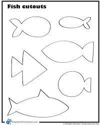 printable fish template - Google Search | Omalovánky ...