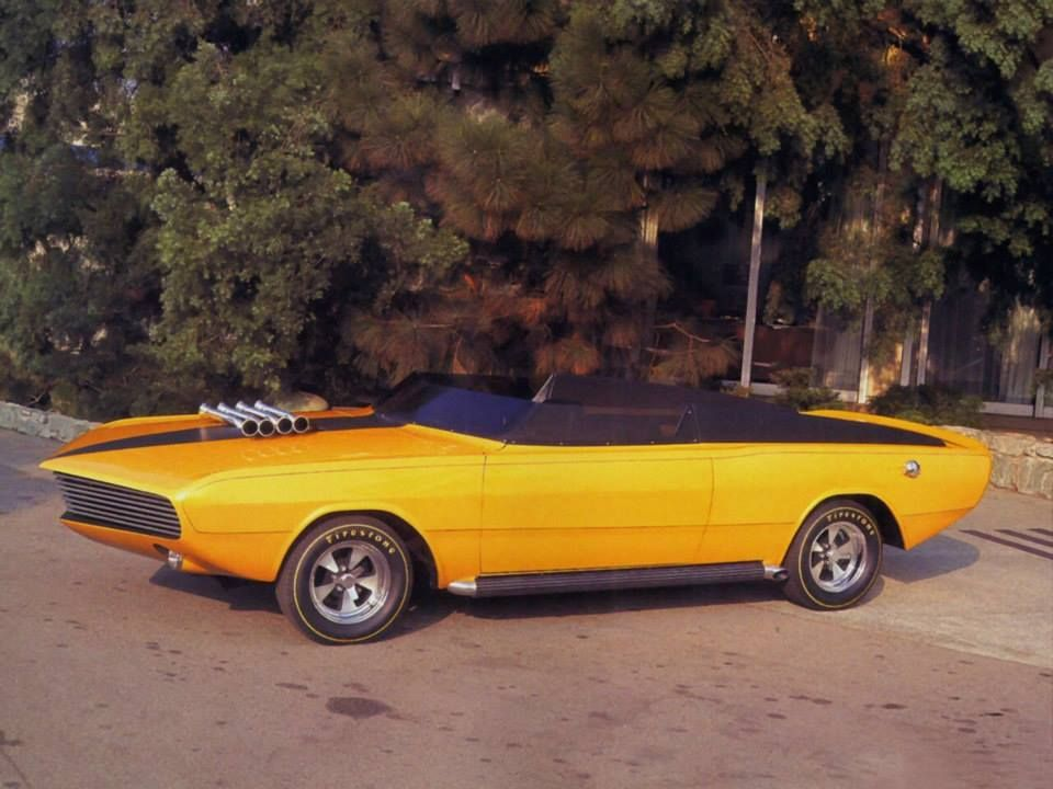 1968 Dodge Daroo I The name Daroo means dart or spear, and its ...