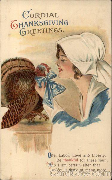 Cordial Thanksgiving Greetings