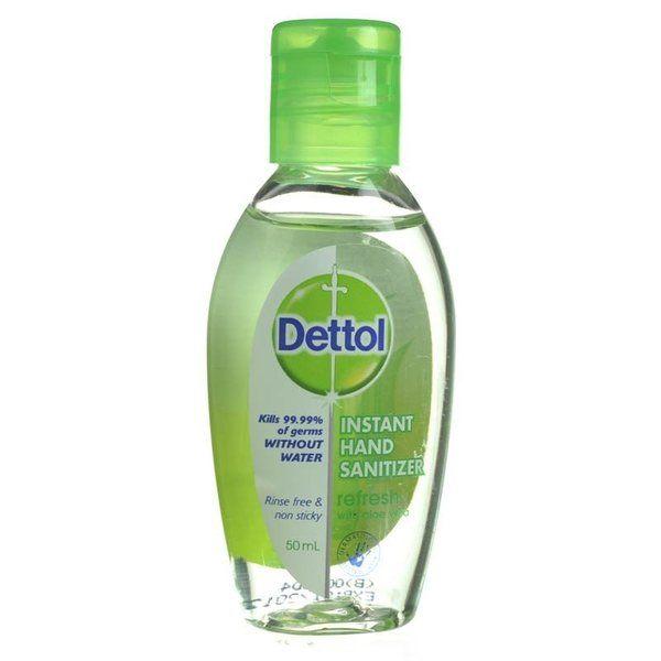 Dettol Instant Hand Sanitiser Refresh 50ml Chempro Online