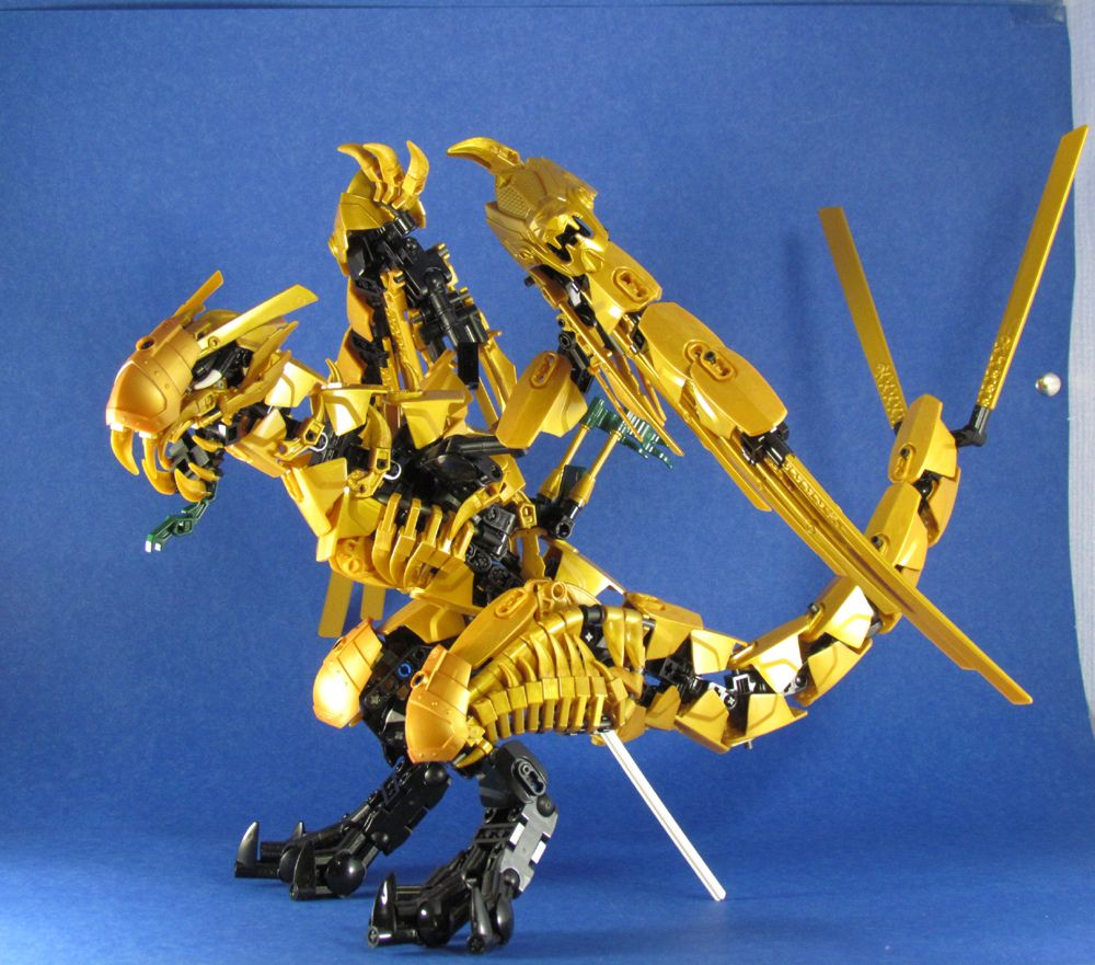 Commission Ninjago Golden Dragon Medieval Lego Cool Creations Ve