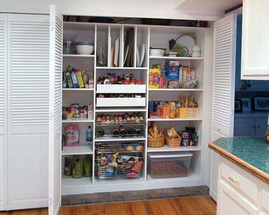 small reach in pantry kitchen design ideas remodel pictures houzz - Kitchen Design Ideas Houzz