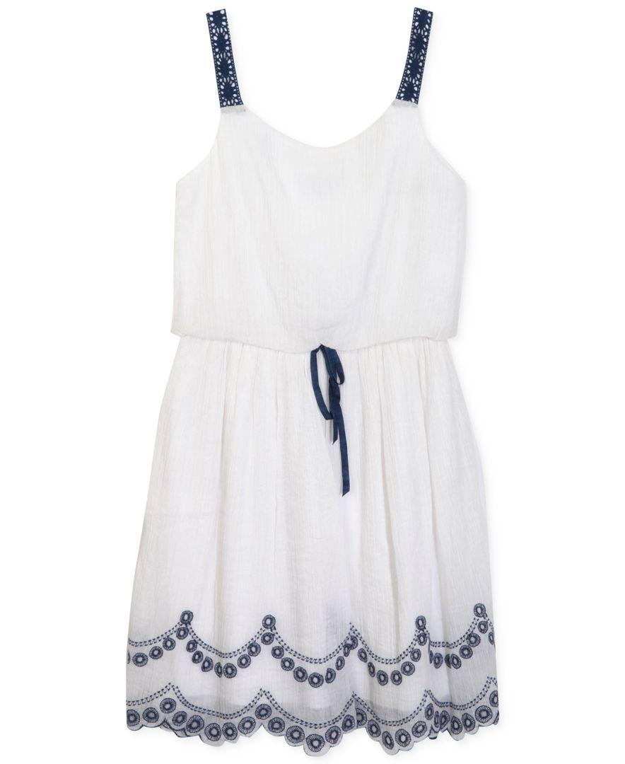 Speechless Girls' Embroidered Dress