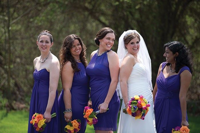 Kerri & Adam's Colorful Celebration Real Wedding photographed by Behr Photography as seen on RealWeddings.TodaysBride.com