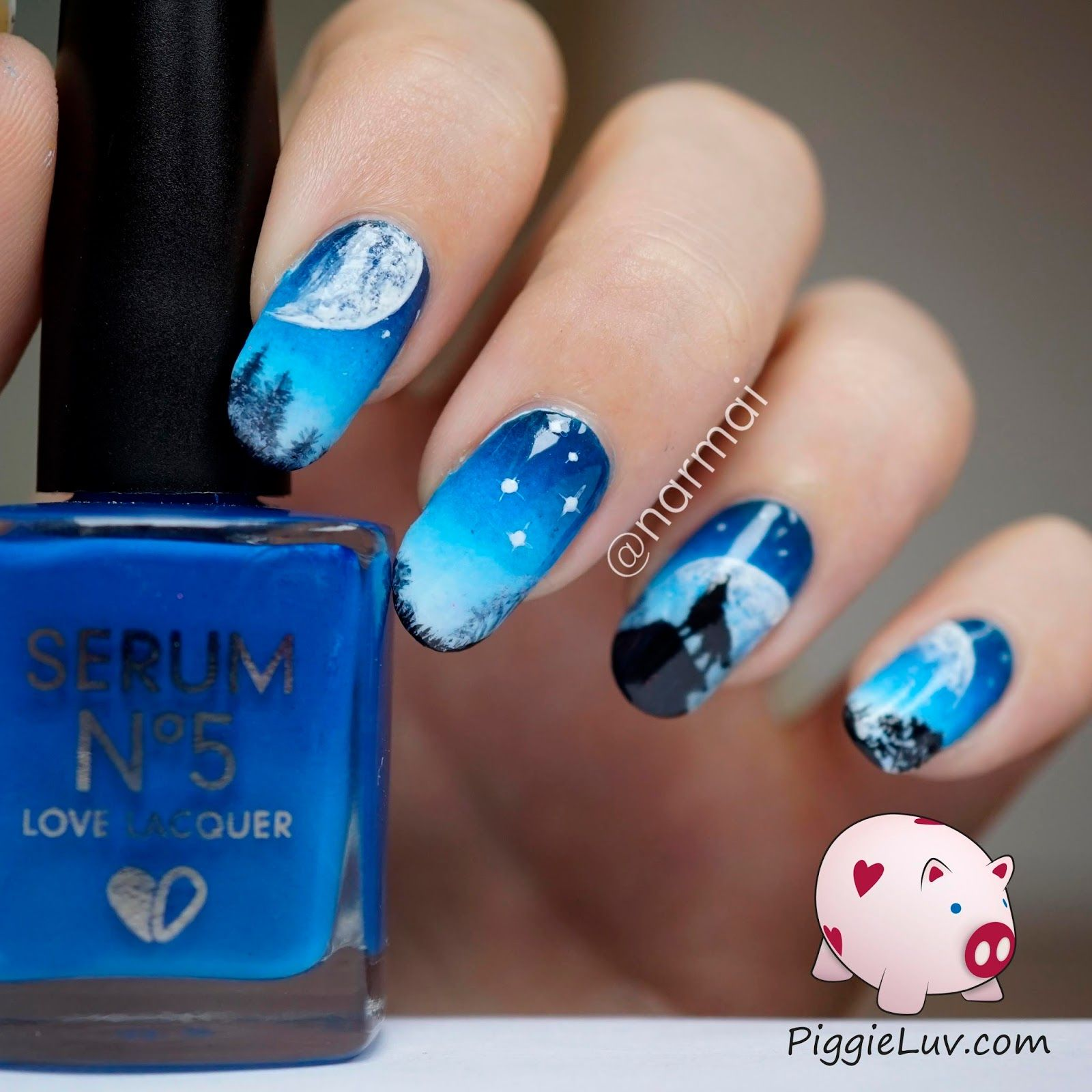 Piggieluv Galaxy Donuts Nail Art: Pin On PiggieLuv