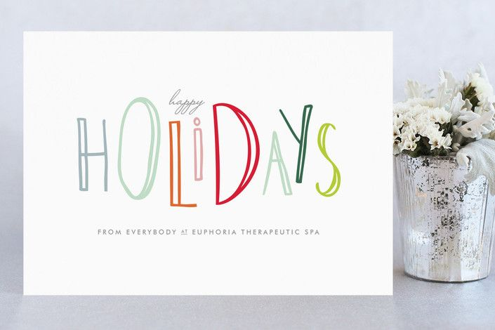 Happy go lucky holidays business holiday cards by up up creative at happy go lucky holidays business holiday cards by up up creative at minted reheart Image collections