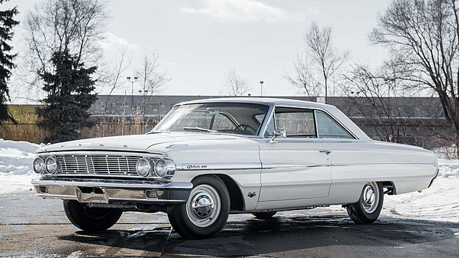 1964 Ford Galaxie 500 R Code 427 425 Hp 4 Speed Mecum Auctions Ford Galaxie Ford Galaxie 500 Galaxie 500