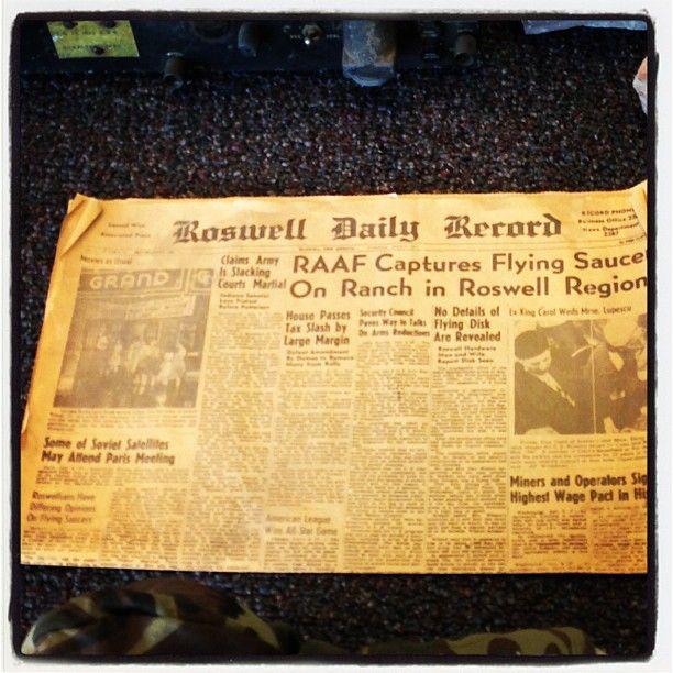 El periódico de roswell