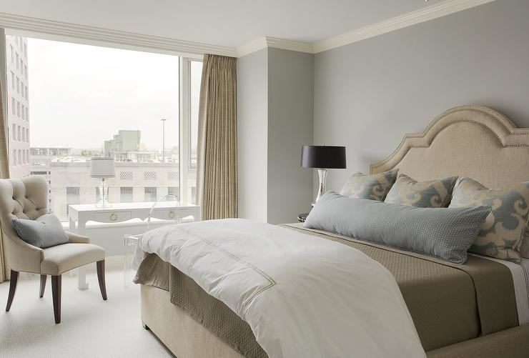 Grey White And Beige Bedroom Ideas images