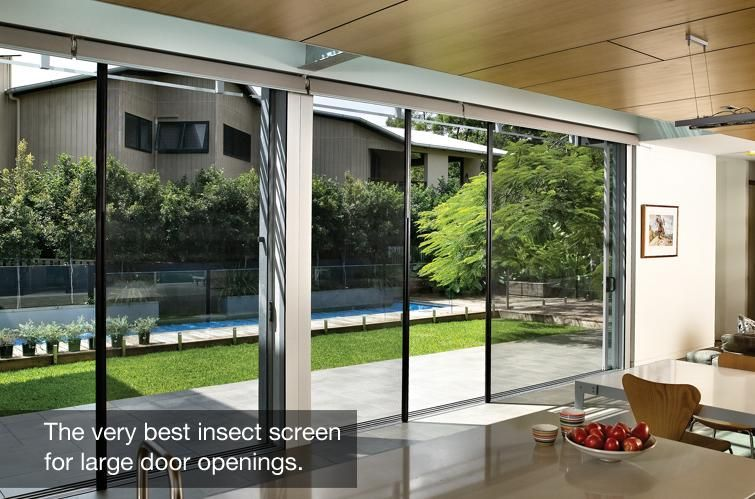 Good Centor Retractable Screen Doors Are Perfect For Folding Doors And Windows.  Centor Screen Systems Are A Perfect Solution For Unobtrusive Protection For  Large ...