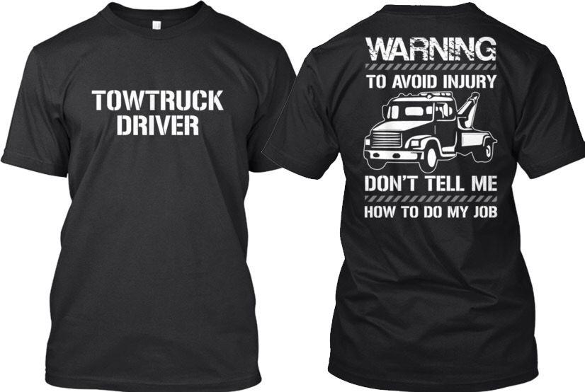 Fashionable Garbage Truck Driver Hanes Tagless Tee Hanes Tagless Tee T-Shirt