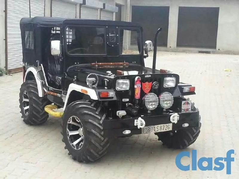 Contact Us For Modified Open Jeeps Mahindra Jeep Custom Jeep