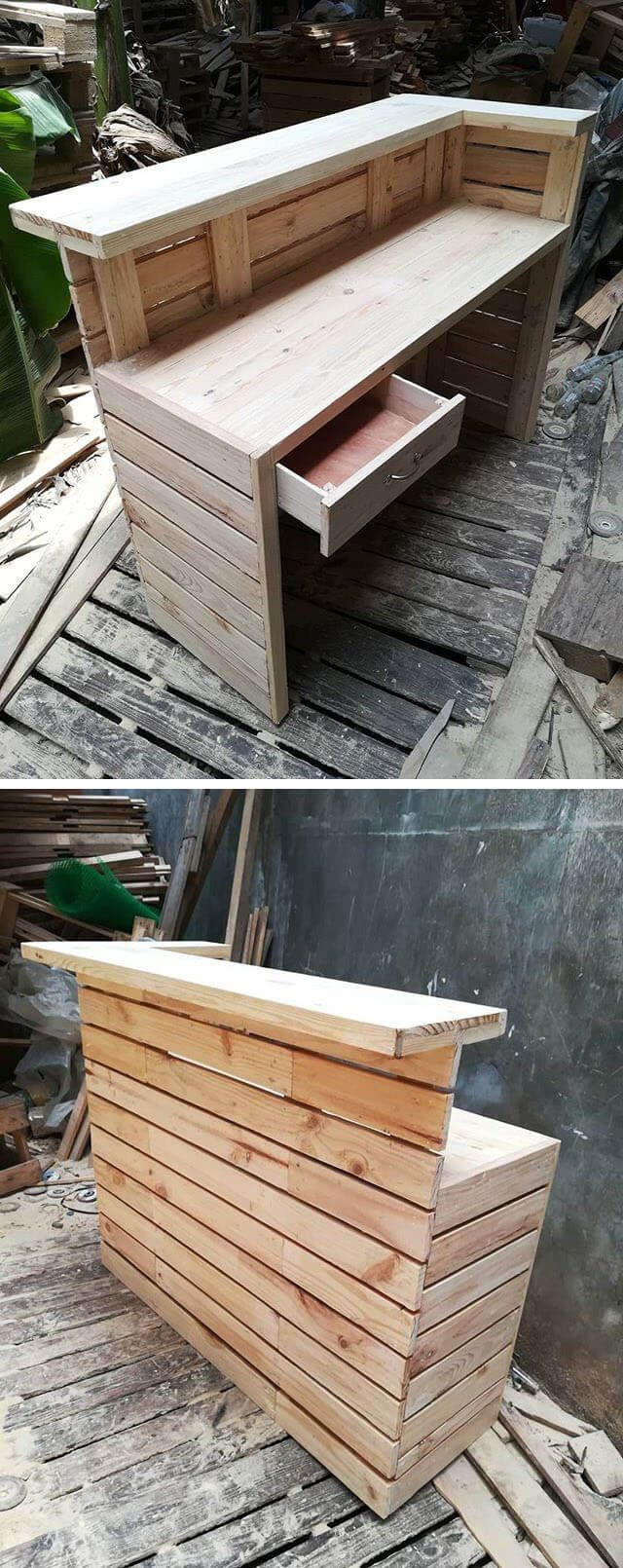 pallet bar ideas for outdoor projects ideas