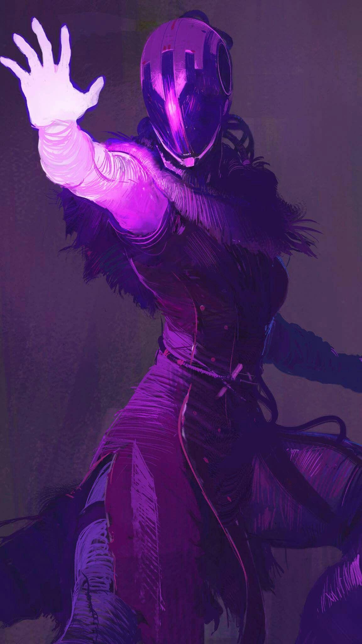 Voidwalker Warlock from Destiny (Art by Activision Press