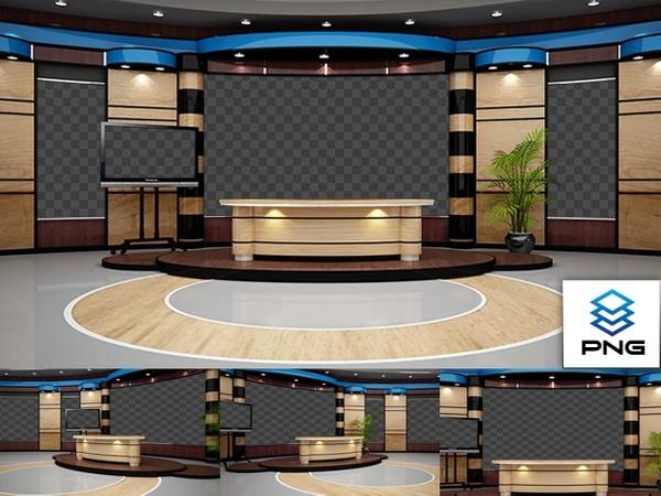 Png 4k News 06 In 2020 Virtual Studio Design Studio