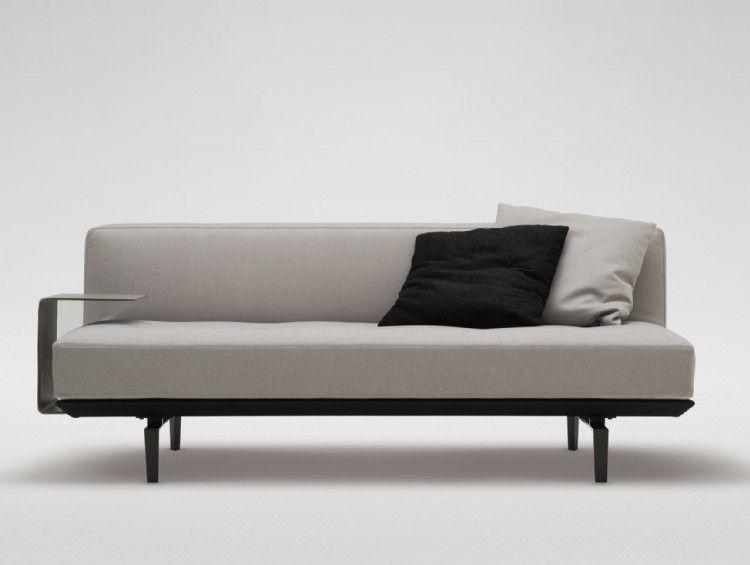 armless 4 seater sofa