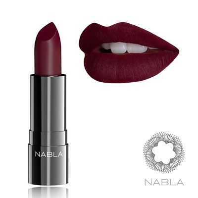 Nabla domina lipstick maquillaje pinterest for Pintalabios granate oscuro mate